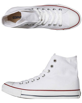 OPTICAL WHITE MENS FOOTWEAR CONVERSE SKATE SHOES - SS17650WHIM