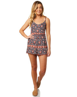 MIDNIGHT WOMENS CLOTHING THE HIDDEN WAY PLAYSUITS + OVERALLS - H8184454MIDNT