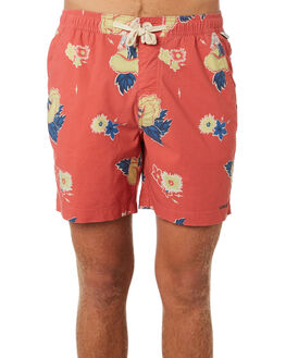 CHERRY MENS CLOTHING THE CRITICAL SLIDE SOCIETY BOARDSHORTS - BS1898CHER