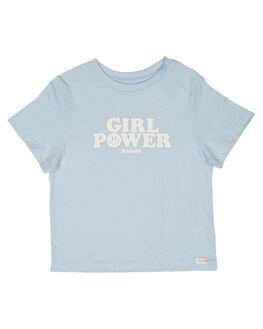 BABY BLUE KIDS GIRLS RIDERS BY LEE TOPS - R-80171K-439BBLU