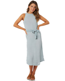 CLOUD BLUE WOMENS CLOTHING BILLABONG DRESSES - 6585473CLOUD