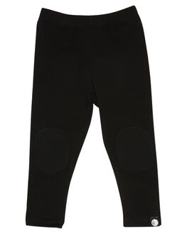 BLACK KIDS BOYS LITTLE LORDS PANTS - AW19335BLK