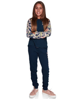 DRESS BLUES KIDS GIRLS ROXY PANTS - ERGFB03110-BTK0