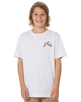 WHITE KIDS BOYS RUSTY TOPS - TTB0632WHT