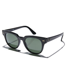 BLACK GREEN MENS ACCESSORIES RAY-BAN SUNGLASSES - 0RB2168BLKGR