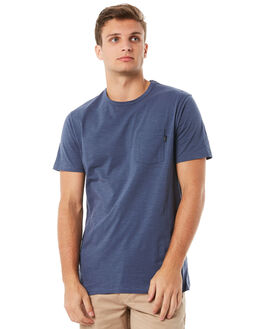 DEEP TEAL MENS CLOTHING RIP CURL TEES - CTEMW20840
