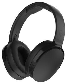 BLACK BLACK MENS ACCESSORIES SKULLCANDY AUDIO - S6HTW-K033BLK