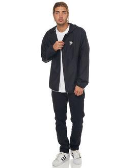 BLACK MENS CLOTHING ADIDAS ORIGINALS JACKETS - CF5789BLK
