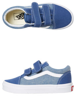 CHAMBRAY KIDS BOYS VANS SNEAKERS - VNA38HDVIO