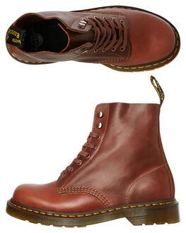TAN WOMENS FOOTWEAR DR. MARTENS BOOTS - SS24990220TANW