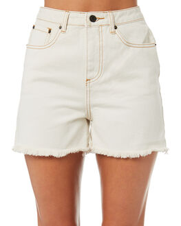 ECRU WOMENS CLOTHING THE HIDDEN WAY SHORTS - H8184231ECRU