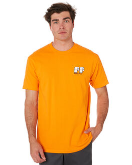ORANGE MENS CLOTHING PASS PORT TEES - PPPOOPOOORG