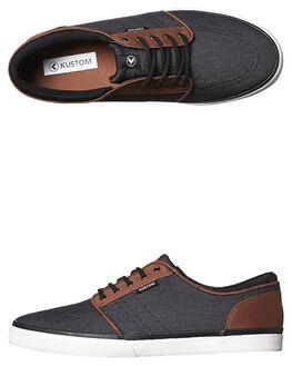SLATE TAN MENS FOOTWEAR KUSTOM SNEAKERS - 4937100TSLT