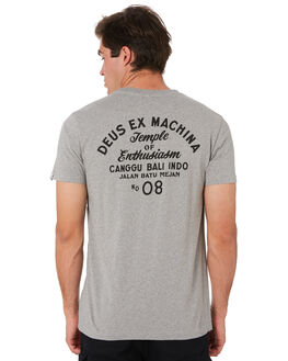 GREY MARLE MENS CLOTHING DEUS EX MACHINA TEES - DMS41065CGRYML