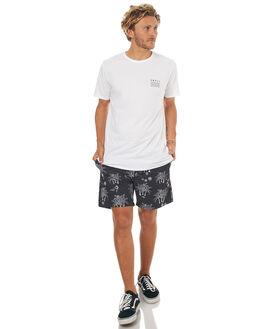 WHITE BLACK MENS CLOTHING SWELL TEES - S5164013WHT