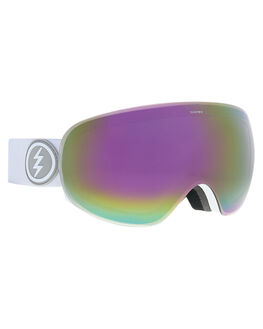 MATTE WHITE PINK BOARDSPORTS SNOW ELECTRIC GOGGLES - EG1518103MWHIP