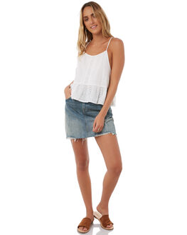 WHITE WOMENS CLOTHING SWELL FASHION TOPS - S8171273WHITE