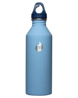 LIGHT BLUE MENS ACCESSORIES MIZU DRINKWARE - Z-M08AMZASLALGTBU