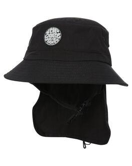 BLACK MENS ACCESSORIES RIP CURL HEADWEAR - CHAAC90090