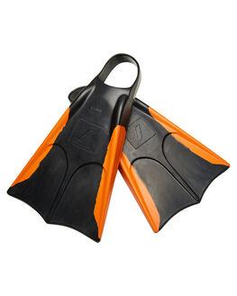 BLACK ORANGE BOARDSPORTS SURF NMD BODYBOARDS LEASHES - N19F2BLKOR
