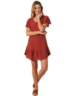 TERRACOTTA WOMENS CLOTHING THE HIDDEN WAY DRESSES - H8184450TERRA