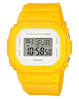 YELLOW WOMENS ACCESSORIES BABY G WATCHES - BGD560CU-9YEL