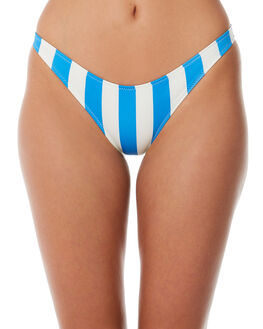 SEA STRIPE OUTLET WOMENS SOLID AND STRIPED BIKINI BOTTOMS - WS-1941-1227SEAST