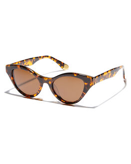 TORTOISEBRONZE WOMENS ACCESSORIES SABRE SUNGLASSES - SS6-506T-BRTORT