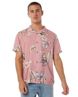 DIRTY PINK MENS CLOTHING STUSSY SHIRTS - ST085408DPINK