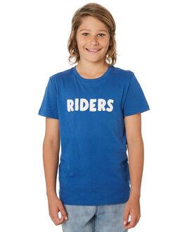 SPORTS BLUE KIDS BOYS RIDERS BY LEE TOPS - R-30129T-LT2