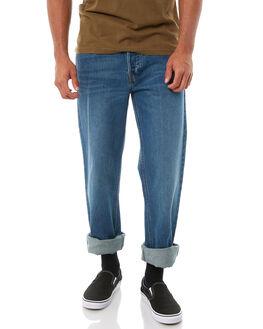 WORN INDIGO MENS CLOTHING BRIXTON JEANS - 04099WNIDG