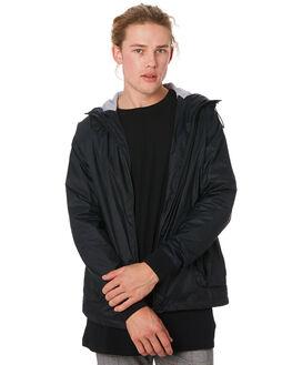 BLACK MENS CLOTHING ZANEROBE JACKETS - 500-RSPBLK