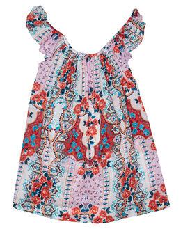 MULTI KIDS GIRLS SEAFOLLY DRESSES + PLAYSUITS - 56360T-105MUL