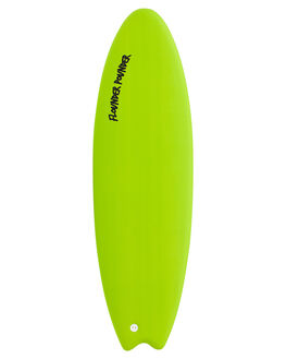 LIME SILVER BOARDSPORTS SURF GNARALOO GSI SOFTBOARDS - NZGN-FLOPO-LMSV