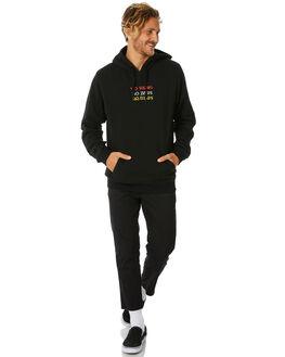 BLACK MENS CLOTHING NO NEWS JUMPERS - N5184441BLACK