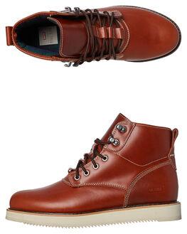 TAWNY BROWN MENS FOOTWEAR GLOBE SNEAKERS - GBKOMACHI-16286