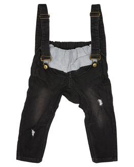 BLACK KIDS BOYS LIL MR PANTS - LM-FAUXBLK