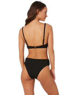 BLACK WOMENS SWIMWEAR SWELL BIKINI BOTTOMS - S8201339BLACK
