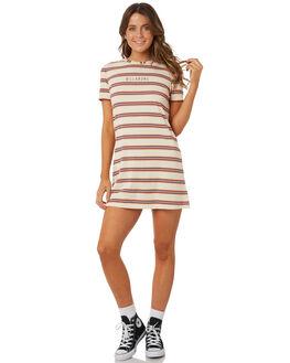 HONEY MUSTARD WOMENS CLOTHING BILLABONG DRESSES - 6572494XHONEY