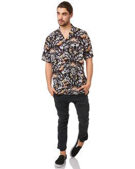 BLACK MENS CLOTHING ZANEROBE SHIRTS - 300-METBLK