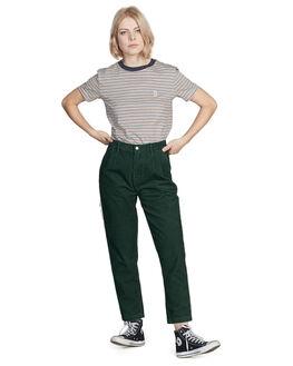 GARDEN TOPIARY WOMENS CLOTHING QUIKSILVER PANTS - EQWNP03004-GRT0