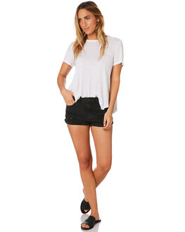 SALT AND PEPPER WOMENS CLOTHING INSIGHT SHORTS - 1000061716BLACK