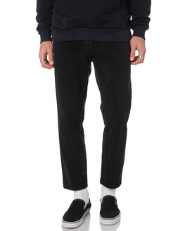 WASTED BLACK MENS CLOTHING THE PEOPLE VS JEANS - W19049WBLK