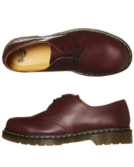 CHERRY SMOOTH MENS FOOTWEAR DR. MARTENS FASHION SHOES - SS11838600CMTHM