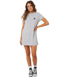 GREY WOMENS CLOTHING BILLABONG DRESSES - 6572494XGREY