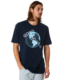 NAVY OUTLET MENS GOOD WORTH TEES - TGL1821NAVY
