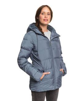 BLUE MIRAGE WOMENS CLOTHING ROXY JACKETS - ERJJK03254-BMK0