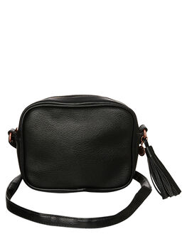 BLACK WOMENS ACCESSORIES RUSTY BAGS - BFL0950BLK