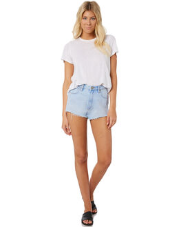SMOOTH WOMENS CLOTHING A.BRAND SHORTS - 71330-4187