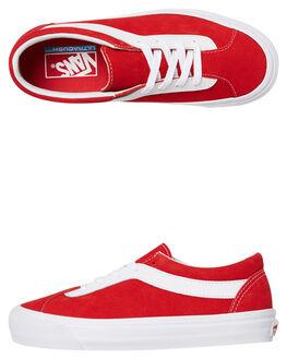 RED WOMENS FOOTWEAR VANS SNEAKERS - SSVNA3WLPULCW